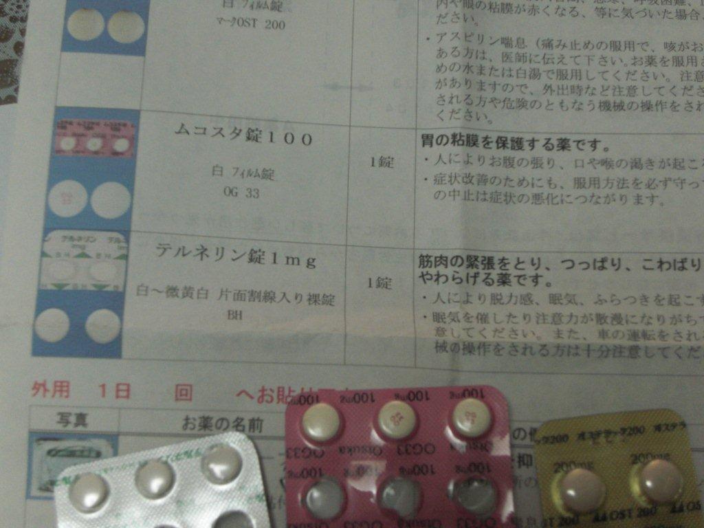 1mg テルネリン 錠